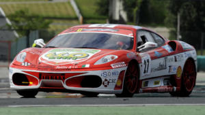 Ferrari F430 вид спереди