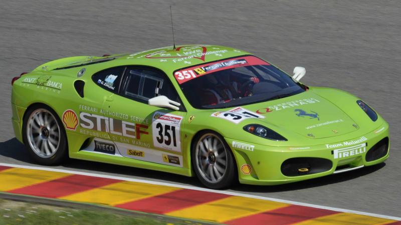 Авто Ferrari F430 Challenge