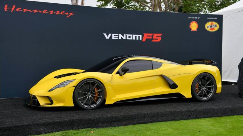 Авто Hennessey Venom F5