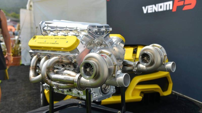 Двигатель Hennessey Venom F5