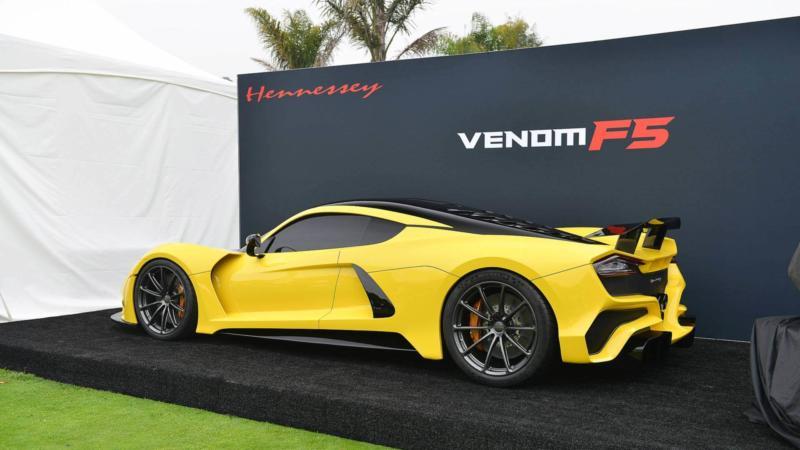 Спорткар Hennessey Venom F5