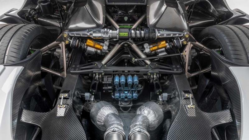 Двигатель Koenigsegg Jesko