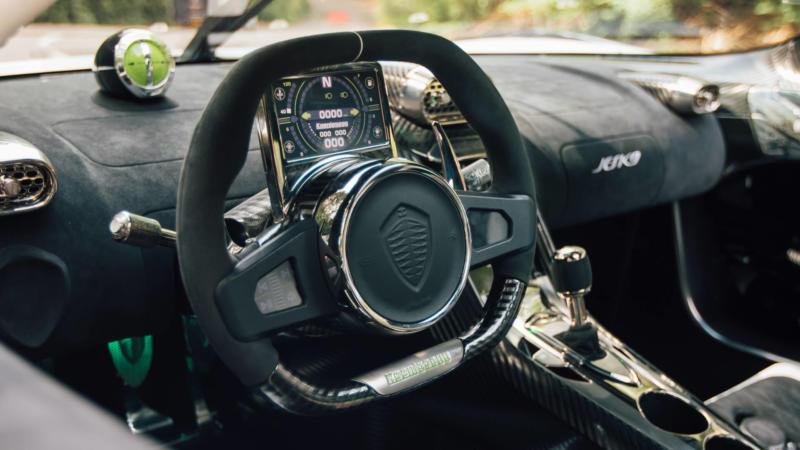 Интерьер Koenigsegg Jesko