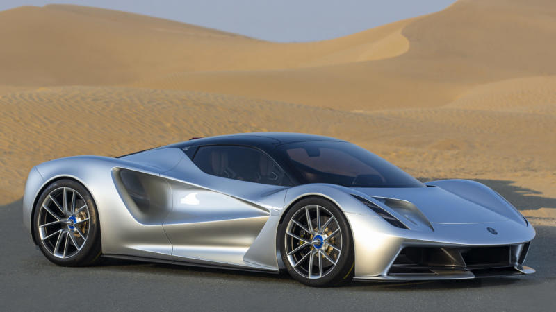 Суперкар Lotus Evija