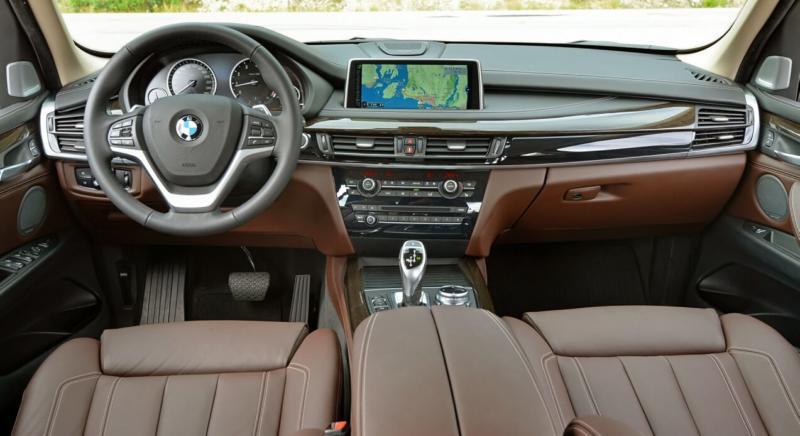 Интерьер BMW X5 F15