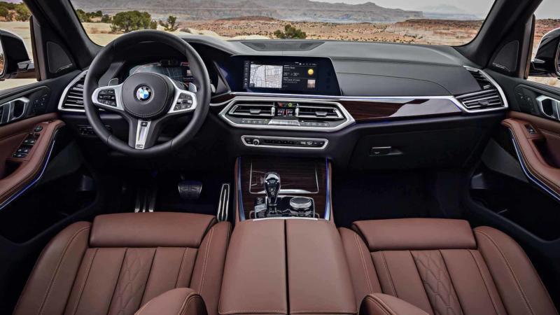 Интерьер BMW X5 (G05)