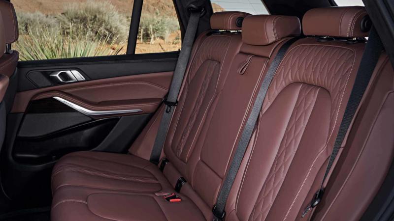 Салон BMW X5 (G05)