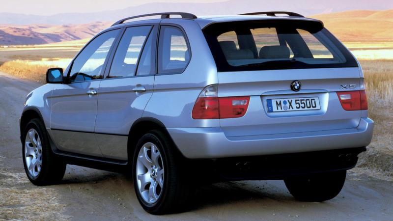 BMW X5 первого поколения