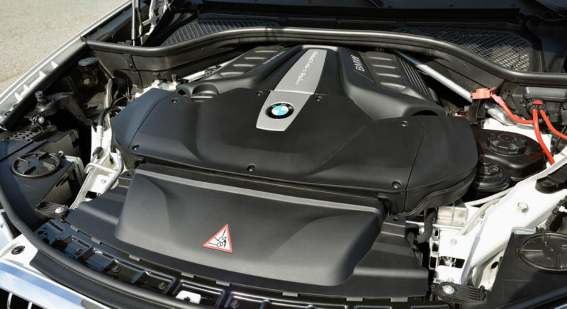 Двигатель BMW X5 F15