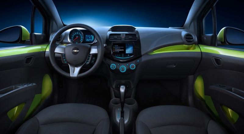 Салон Chevrolet Spark М300