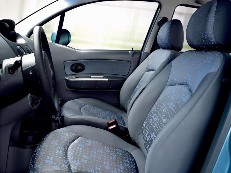 Салон Chevrolet Spark M200