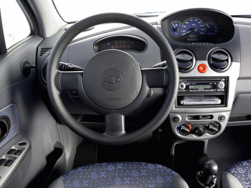 Интерьер Chevrolet Spark M200