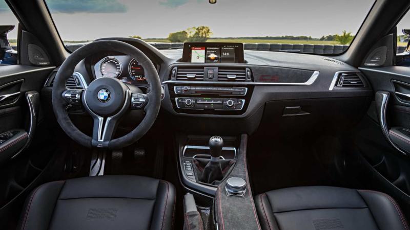 Интерьер BMW M2 CS