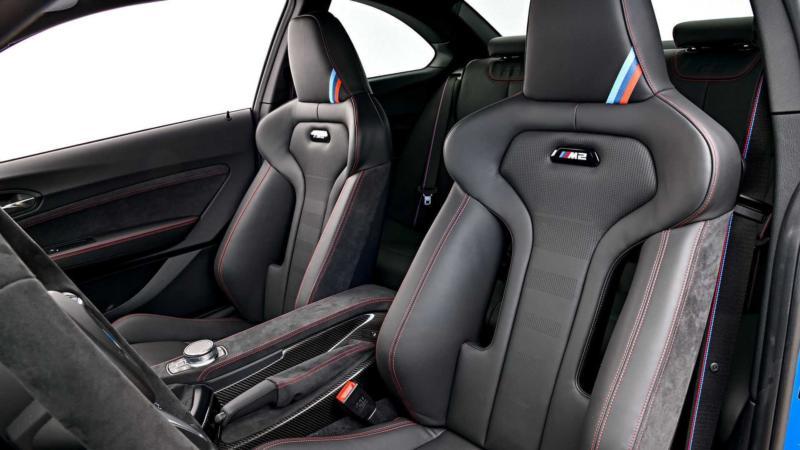 Салон BMW M2 CS