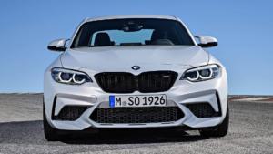 Вид спереди BMW M2 Competition