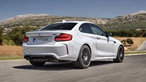 Вид сзади BMW M2 Competition