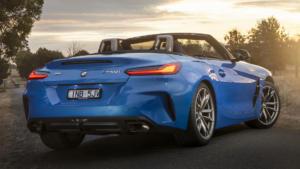 Вид сзади BMW Z4