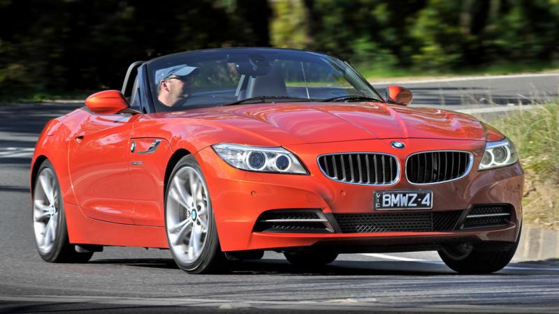 BMW Z4 вид спереди