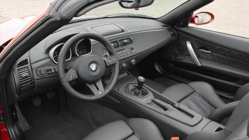 Интерьер BMW Z4 2002