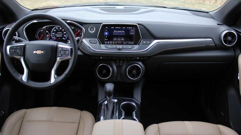 Интерьер Chevrolet Blazer