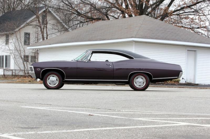 Вид сбоку Chevrolet Impala