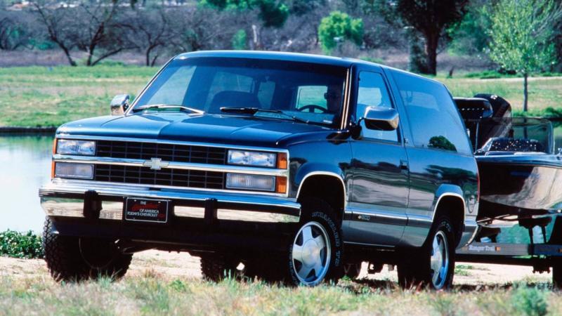 Фото авто Chevrolet K1500 Blazer