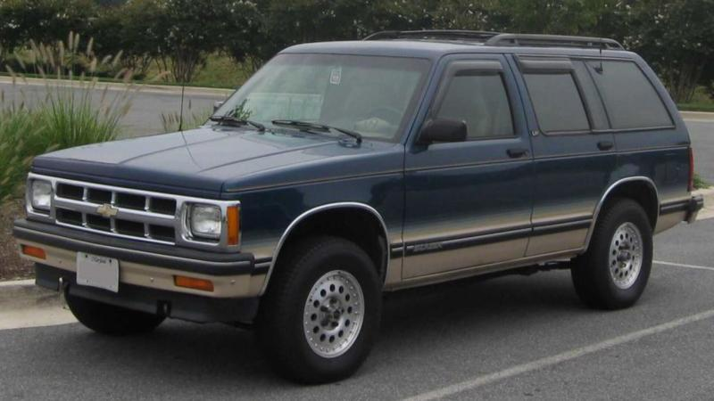 Фото Chevrolet S-10 Blazer