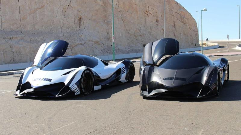 Суперкар Devel Sixteen