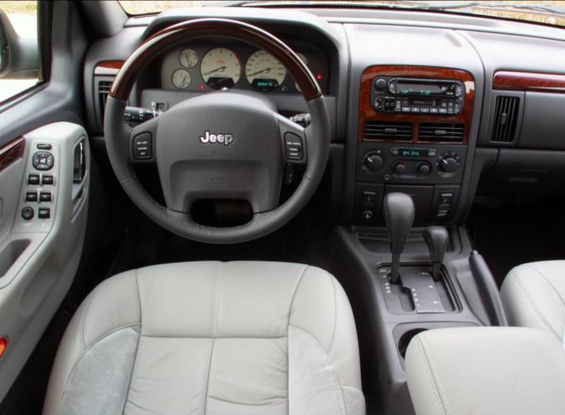 Интерьер Jeep Grand Cherokee (WJ)