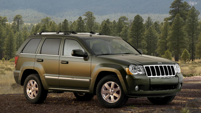 Фото Jeep Grand Cherokee (WK)