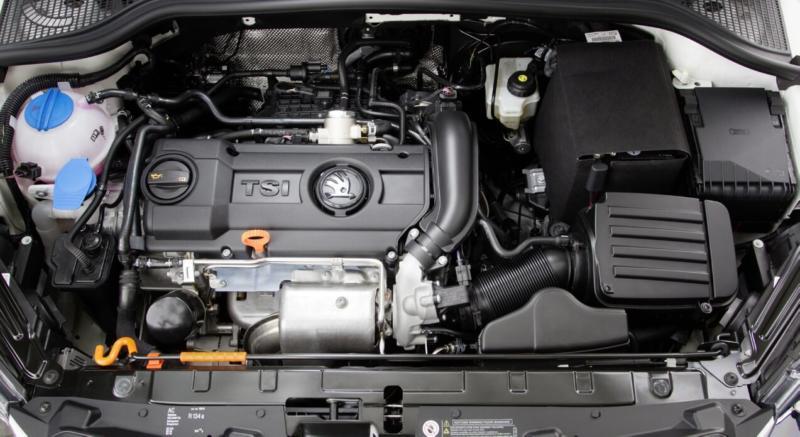 Двигатель Skoda Yeti