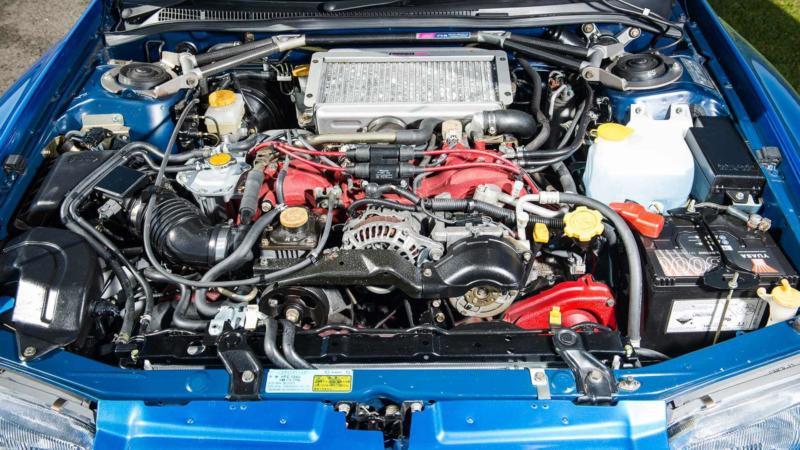 Двигатель Subaru Impreza WRX 1992