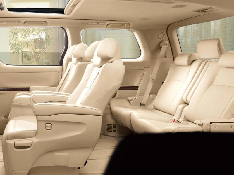 Фото салона Toyota Alphard 2 поколения
