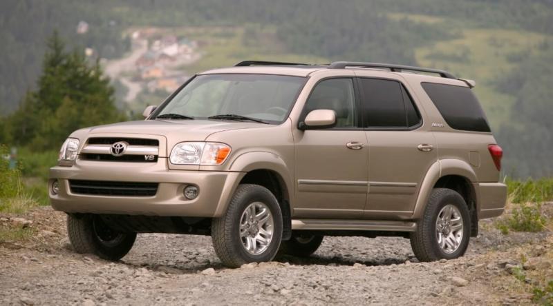 Внедорожник Toyota Sequoia