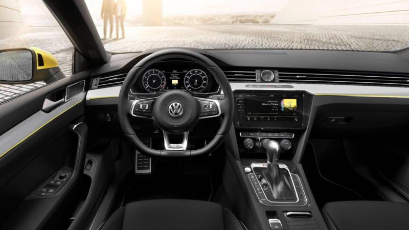 Салон Volkswagen Arteon