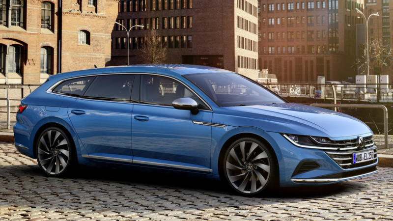 Фото Volkswagen Arteon Shooting Brake