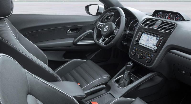 Интерьер Volkswagen Scirocco