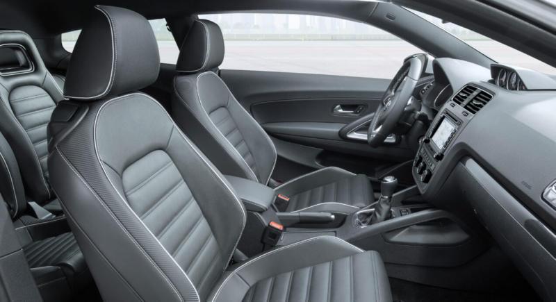 Салон Volkswagen Scirocco