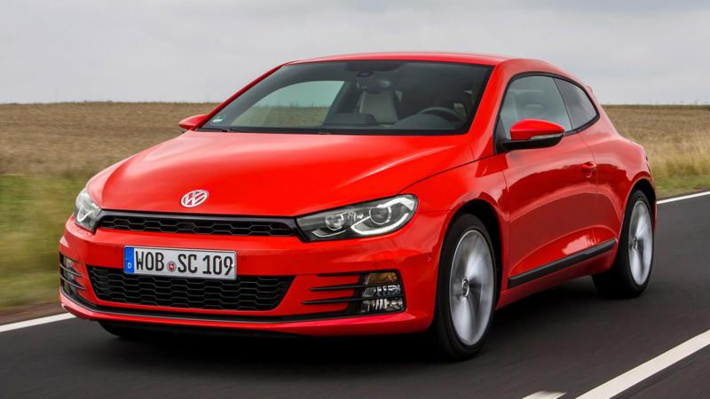 Volkswagen Scirocco вид спереди