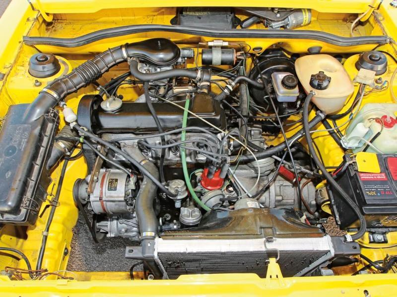 Двигатель Volkswagen Scirocco 1974