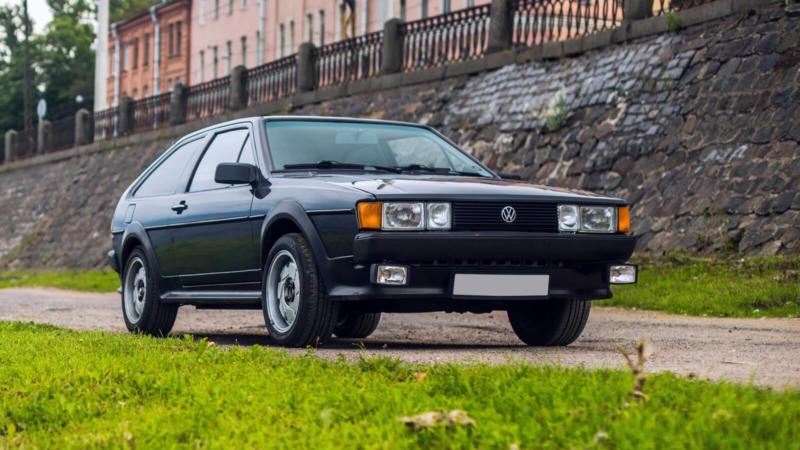 Volkswagen Scirocco II вид спереди