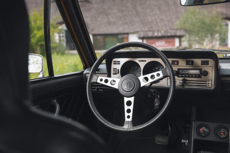 Салон Volkswagen Scirocco 1974
