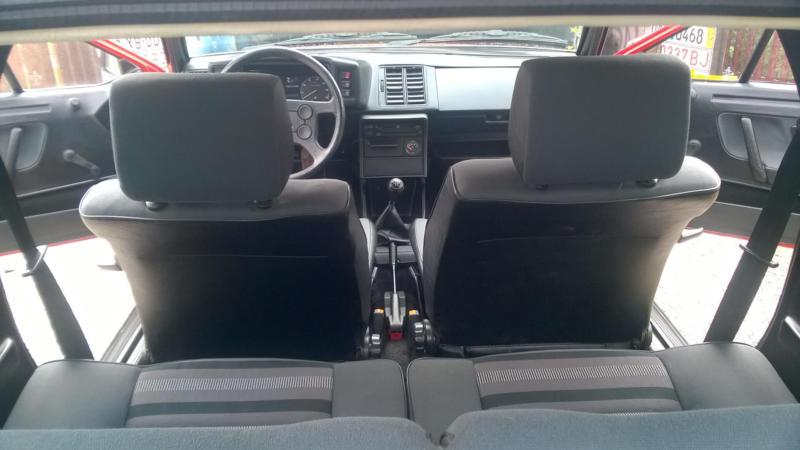 Салон Volkswagen Scirocco 2