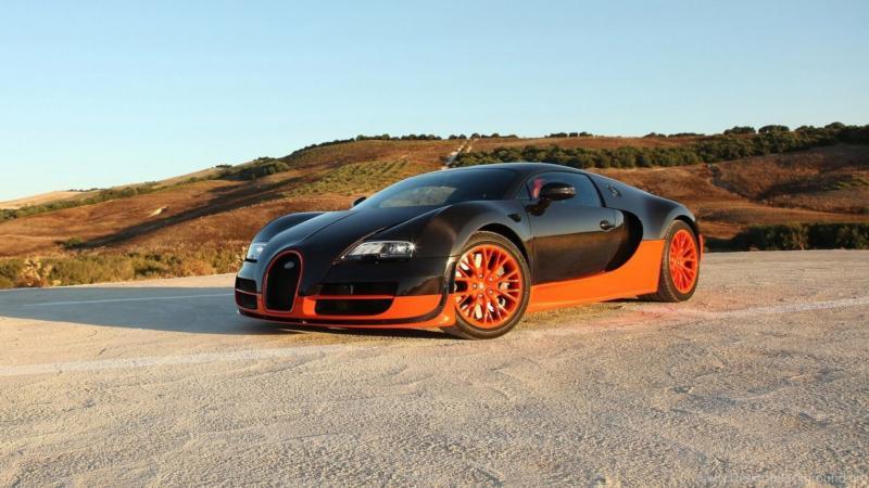 Суперкар Bugatti Veyron Super Sport