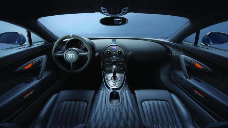 Салон Bugatti Veyron Super Sport