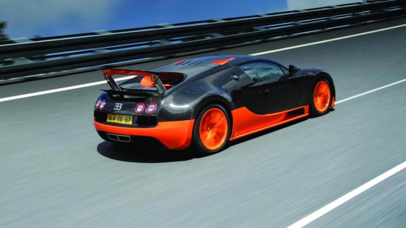 Bugatti Veyron Super Sport фото авто