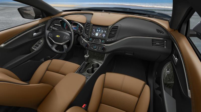 Интерьер Chevrolet Impala