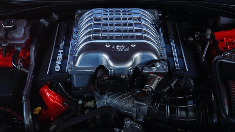 Двигатель Dodge Challenger SRT Demon