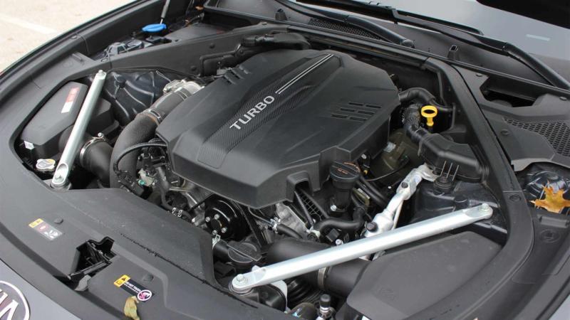 Двигатель KIA K900