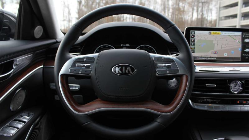 Рулевое колесо KIA K900